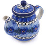 20 oz Stoneware Tea or Coffee Pot - Polmedia Polish Pottery H6258F