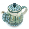 20 oz Stoneware Tea or Coffee Pot - Polmedia Polish Pottery H8752H