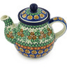 20 oz Stoneware Tea or Coffee Pot - Polmedia Polish Pottery H8994G