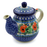 20 oz Stoneware Tea or Coffee Pot - Polmedia Polish Pottery H9947A