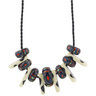 22-inch Stoneware Necklace - Polmedia Polish Pottery H0326G