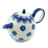 22 oz Stoneware Tea or Coffee Pot - Polmedia Polish Pottery H9451H