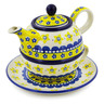 22 oz Stoneware Tea Set for One - Polmedia Polish Pottery H3373J