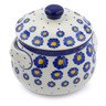 24 oz Stoneware Bouillon Cup with Lid - Polmedia Polish Pottery H0397J