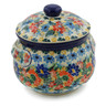 24 oz Stoneware Bouillon Cup with Lid - Polmedia Polish Pottery H7835J