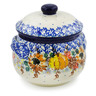 24 oz Stoneware Bouillon Cup with Lid - Polmedia Polish Pottery H7836J