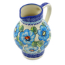 24 oz Stoneware Pitcher - Polmedia Polish Pottery H6446F