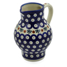 24 oz Stoneware Pitcher - Polmedia Polish Pottery H6610F