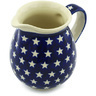 28 oz Stoneware Pitcher - Polmedia Polish Pottery H3133H