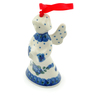 3-inch Stoneware Angel Ornament - Polmedia Polish Pottery H6045I