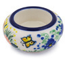 3-inch Stoneware Candle Holder - Polmedia Polish Pottery H3642G