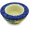 3-inch Stoneware Candle Holder - Polmedia Polish Pottery H4821G