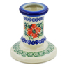 3-inch Stoneware Candle Holder - Polmedia Polish Pottery H5097K
