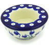 3-inch Stoneware Candle Holder - Polmedia Polish Pottery H5411G