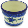 3-inch Stoneware Candle Holder - Polmedia Polish Pottery H5523G