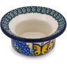 3-inch Stoneware Candle Holder - Polmedia Polish Pottery H5986G