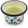 3-inch Stoneware Candle Holder - Polmedia Polish Pottery H6186G