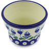 3-inch Stoneware Candle Holder - Polmedia Polish Pottery H6276G