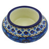 3-inch Stoneware Candle Holder - Polmedia Polish Pottery H6732G