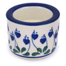 3-inch Stoneware Candle Holder - Polmedia Polish Pottery H6927G