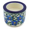 3-inch Stoneware Candle Holder - Polmedia Polish Pottery H8280F