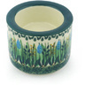 3-inch Stoneware Candle Holder - Polmedia Polish Pottery H8995G