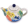 3-inch Stoneware Mini Tea Pot - Polmedia Polish Pottery H5665G