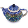 3-inch Stoneware Mini Tea Pot - Polmedia Polish Pottery H6200G