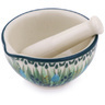 3-inch Stoneware Mortar and Pestle - Polmedia Polish Pottery H4489G