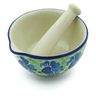 3-inch Stoneware Mortar and Pestle - Polmedia Polish Pottery H5425A