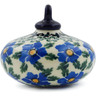 3-inch Stoneware Ornament Christmas Ball - Polmedia Polish Pottery H8299F