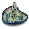 3-inch Stoneware Ring Holder - Polmedia Polish Pottery H0470I