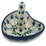 3-inch Stoneware Ring Holder - Polmedia Polish Pottery H1787I
