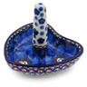 3-inch Stoneware Ring Holder - Polmedia Polish Pottery H2067J