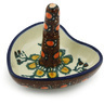 3-inch Stoneware Ring Holder - Polmedia Polish Pottery H2484H