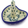 3-inch Stoneware Ring Holder - Polmedia Polish Pottery H2485E