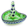 3-inch Stoneware Ring Holder - Polmedia Polish Pottery H2632I