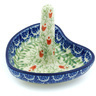 3-inch Stoneware Ring Holder - Polmedia Polish Pottery H3372H