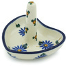 3-inch Stoneware Ring Holder - Polmedia Polish Pottery H6661H