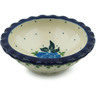 3-inch Stoneware Scalloped Bowl - Polmedia Polish Pottery H1734I