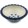 3-inch Stoneware Scalloped Bowl - Polmedia Polish Pottery H1747I
