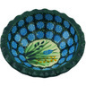 3-inch Stoneware Scalloped Bowl - Polmedia Polish Pottery H3166G