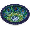 3-inch Stoneware Scalloped Bowl - Polmedia Polish Pottery H3547G