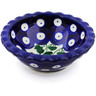 3-inch Stoneware Scalloped Bowl - Polmedia Polish Pottery H5561B