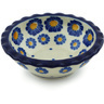 3-inch Stoneware Scalloped Bowl - Polmedia Polish Pottery H6241H