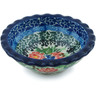 3-inch Stoneware Scalloped Bowl - Polmedia Polish Pottery H6831H