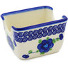 3-inch Stoneware Sugar Packet Holder - Polmedia Polish Pottery H0162K