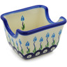 3-inch Stoneware Sugar Packet Holder - Polmedia Polish Pottery H9194F