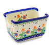 3-inch Stoneware Sugar Packet Holder - Polmedia Polish Pottery H9305F