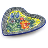 3-inch Stoneware Tea Bag or Lemon Plate - Polmedia Polish Pottery H5466I